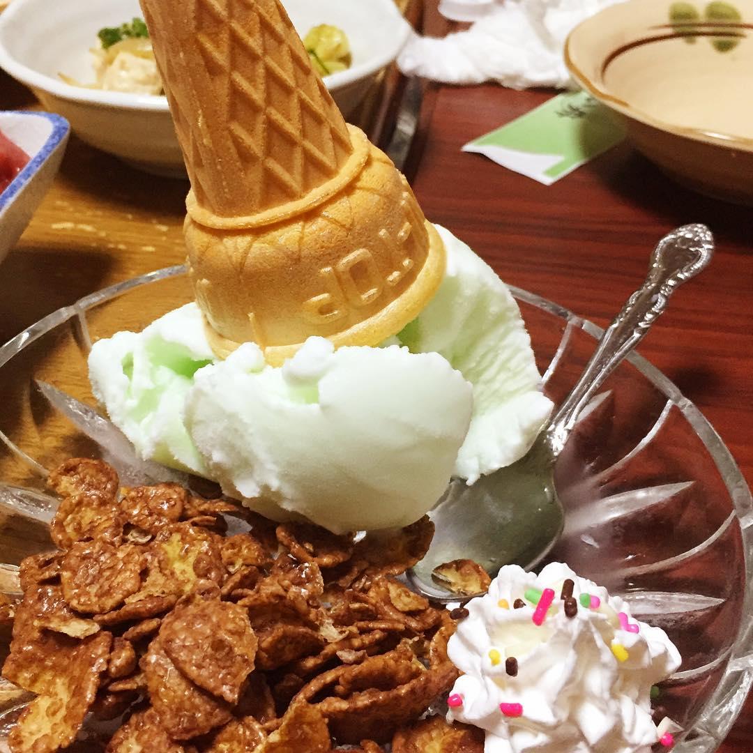 かよい舟のソフトクリーム