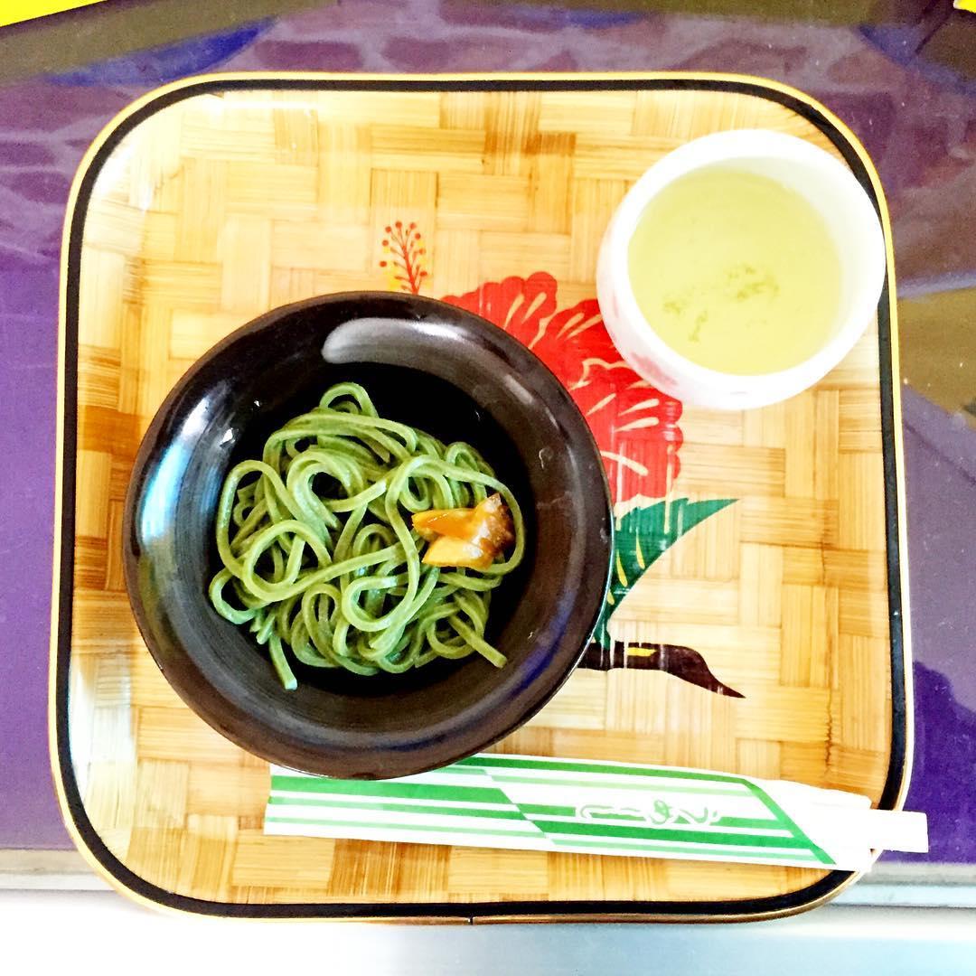 モリンガ麺試食