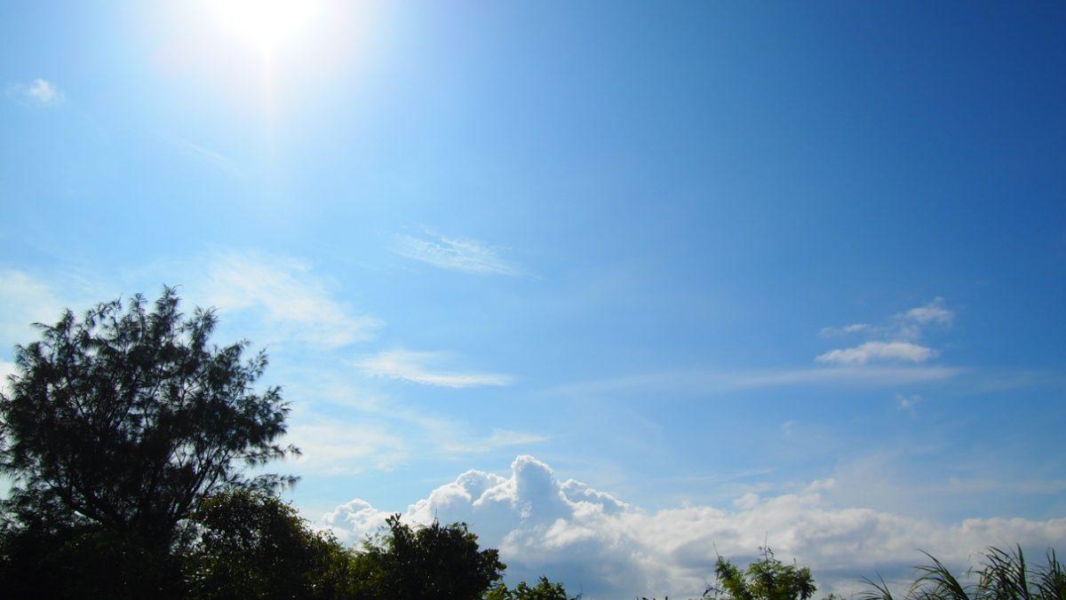 6月8日の空