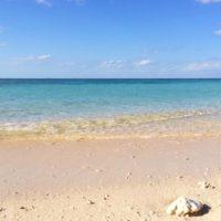 今日の与論島は久々に晴れてとても暑かったです