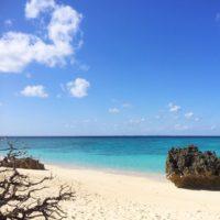 与論島の2017年はとてもいい天気でスタートです!