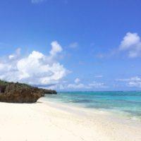 いつかの与論島の海