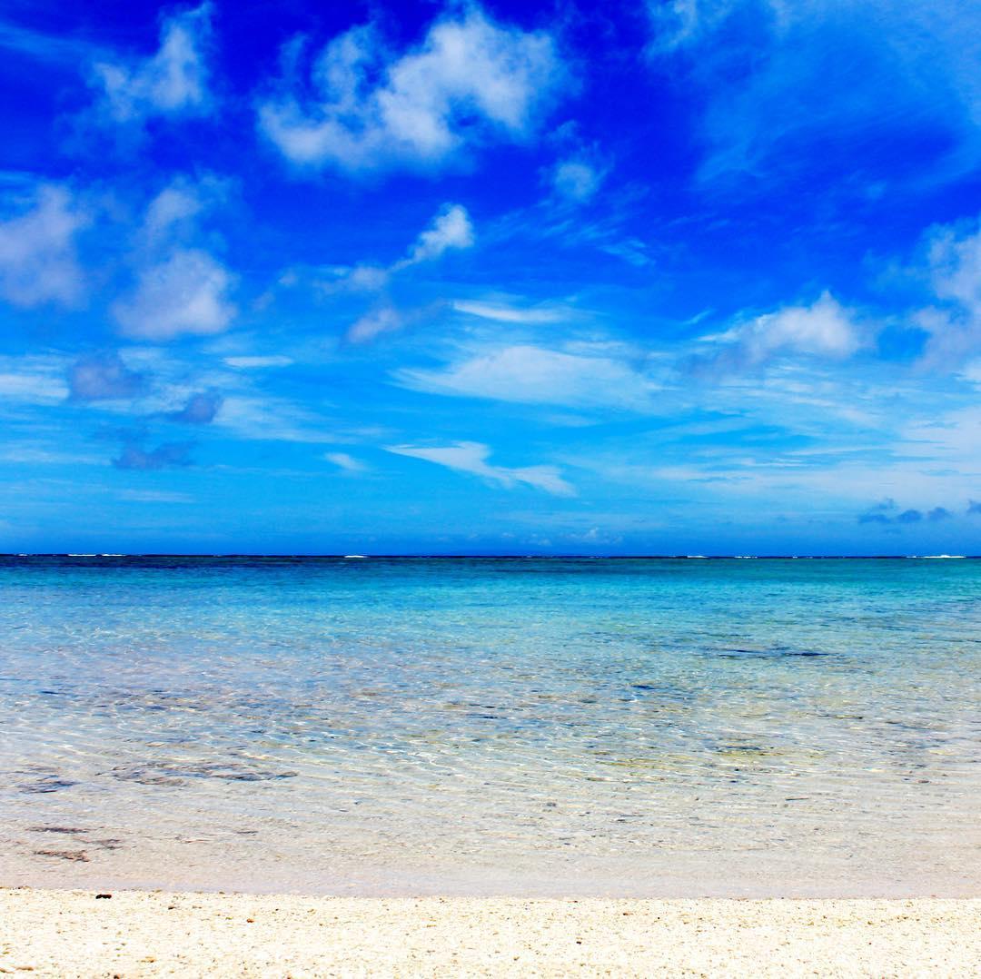 いい海、いい天気。