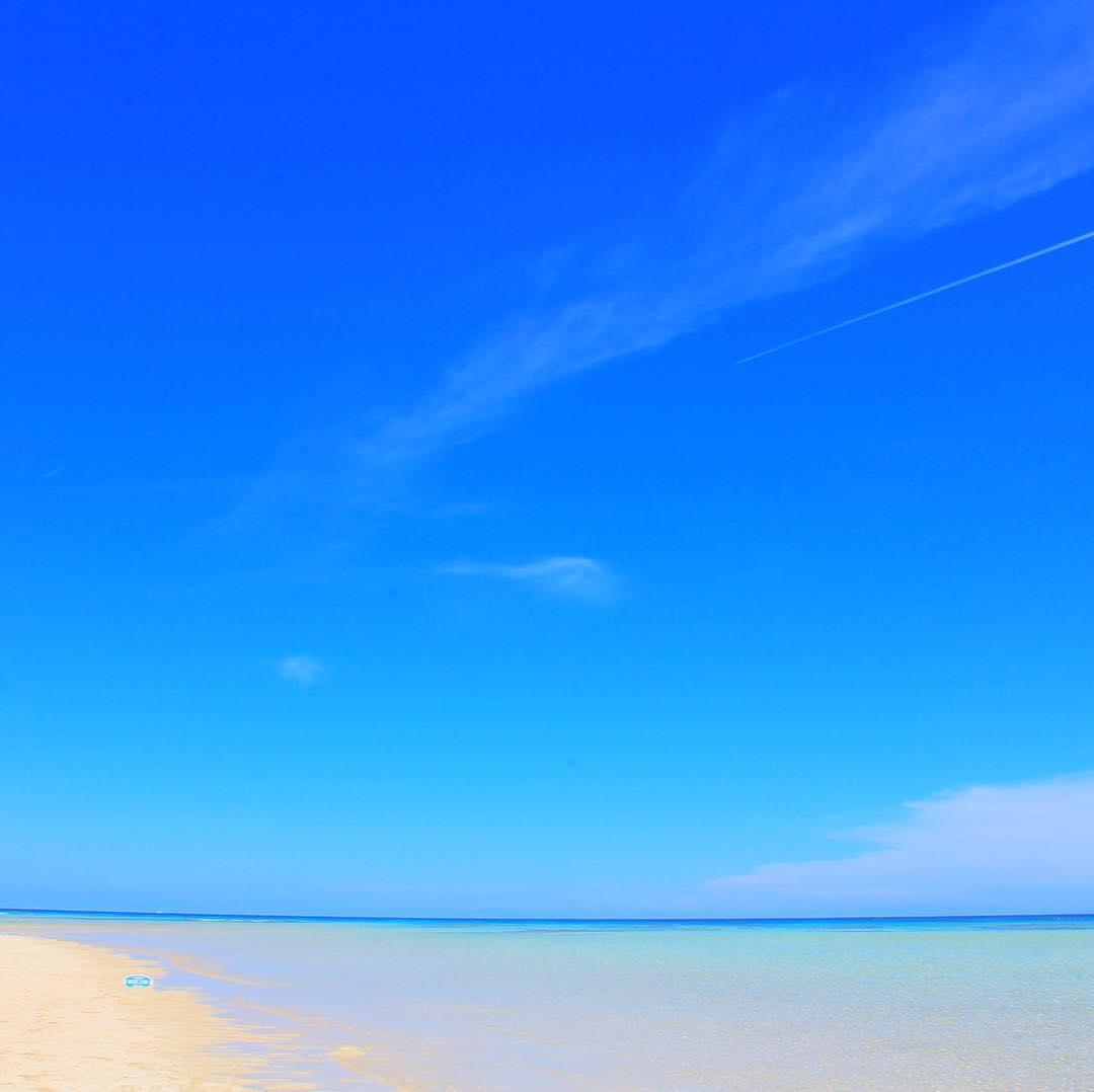 空が高い百合ヶ浜