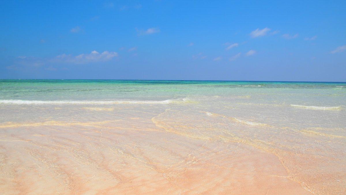 百合ヶ浜上の波