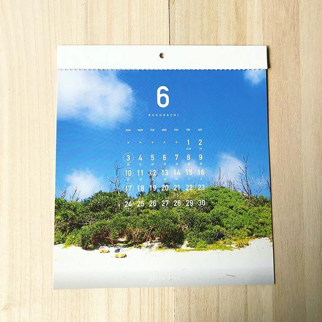 6月のヨロンブルーカレンダーは私の大好きな黒花海岸ことクルパナです!海に入って砂浜側を見るのもいいもんですね。クルパナおすすめですよ。#46n #ヨロン #与論島#与論島の海 #yoronblue