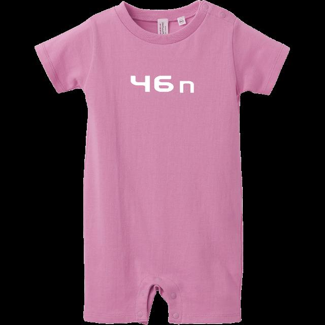 46n ロンパース ピンク